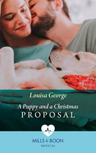 Cover of A Puppy and a Christmas Proposal
