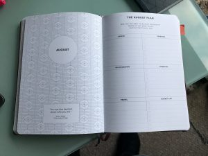 2021 Circle Planner to track monthly goals