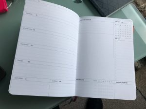 2021 Circle Planner to track weekly goals